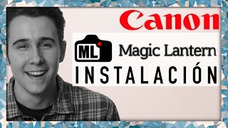 Magic Lantern: Instalación en Canon 600D, 550D, 500D, 60D, 50D y 5D Mark II