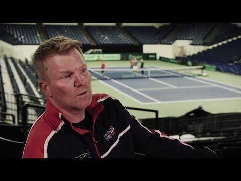 In coversation with Jim Courier