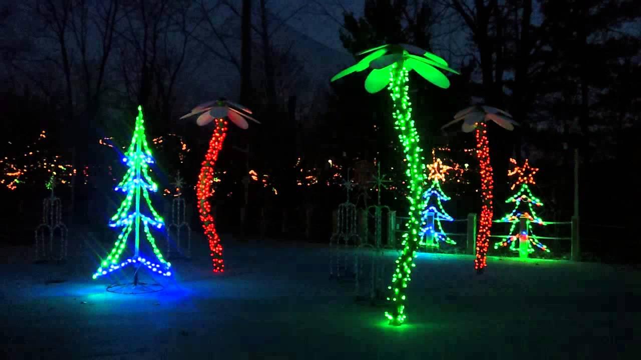 indianapolis zoo christmas at the zoo light display
