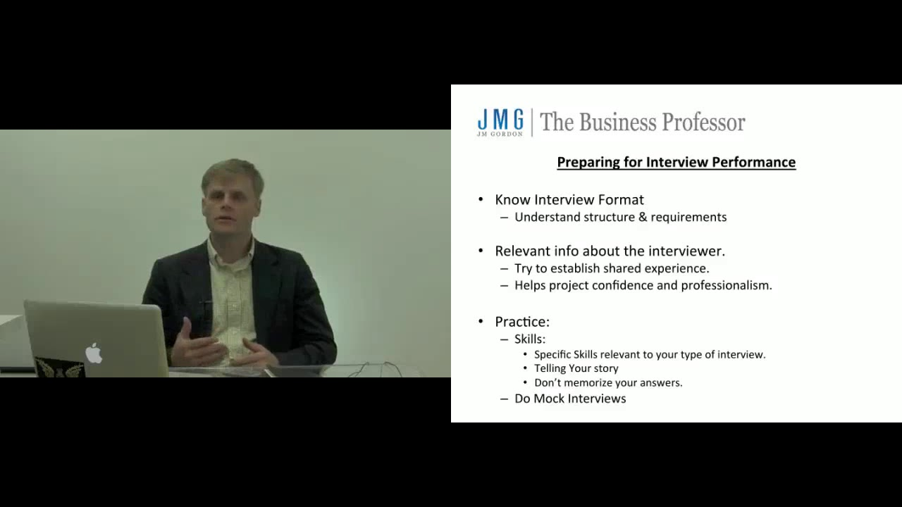 Interview Preparation - Pre-Interview Practice - YouTube