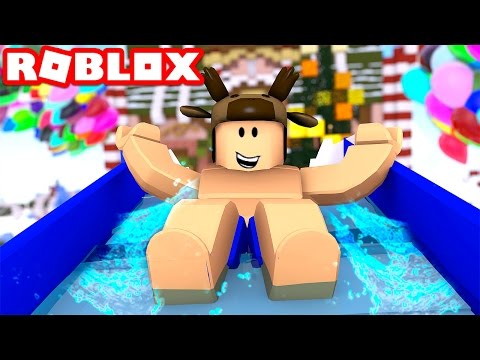 WATER PARK IN ROBLOX!