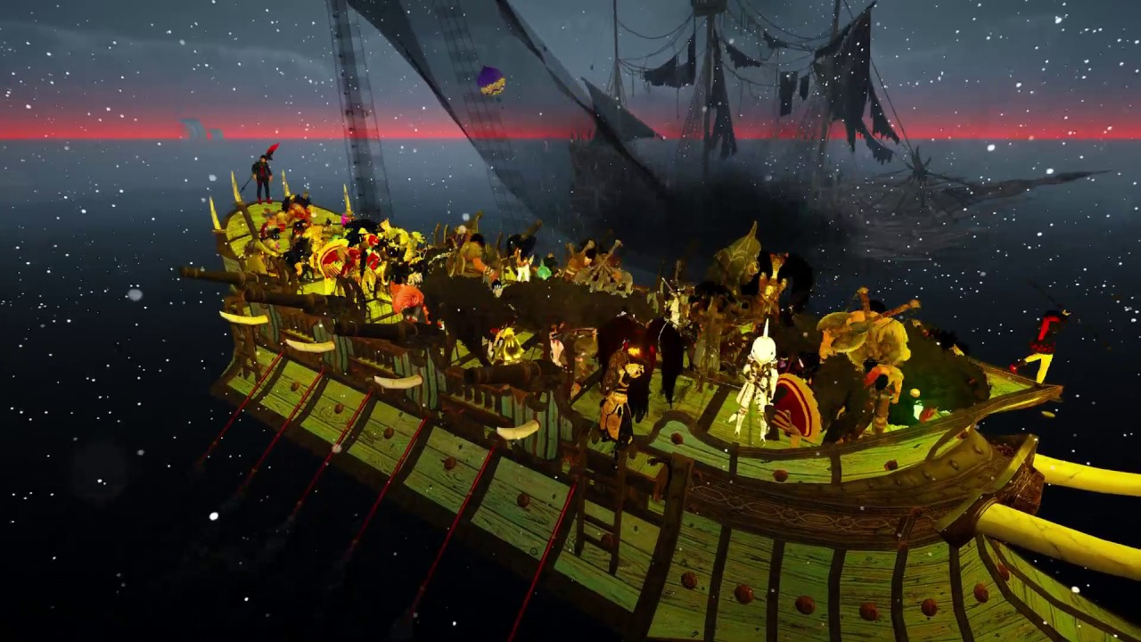 Pirate Ghost Ship Attacks on GM Boat Ride! 1st Look at Margoria #BlackDesert