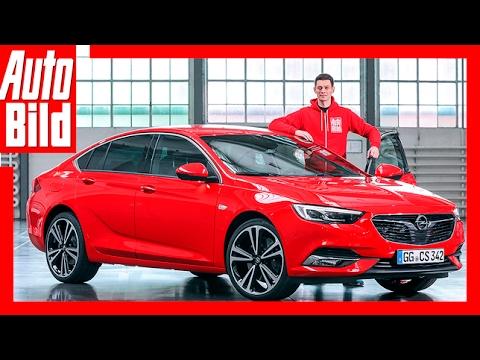 Sitzprobe im neuen Opel Insignia Review / Details / Insignia 2 (2017)