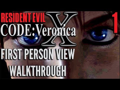 Resident Evil CODE: Veronica X (First Person View) - Part 1 | The Leviathan