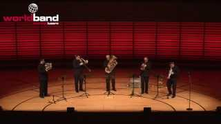 Boston Brass plays Summertime from Porgy and Bess @ World Band Festival Luzern 2015
