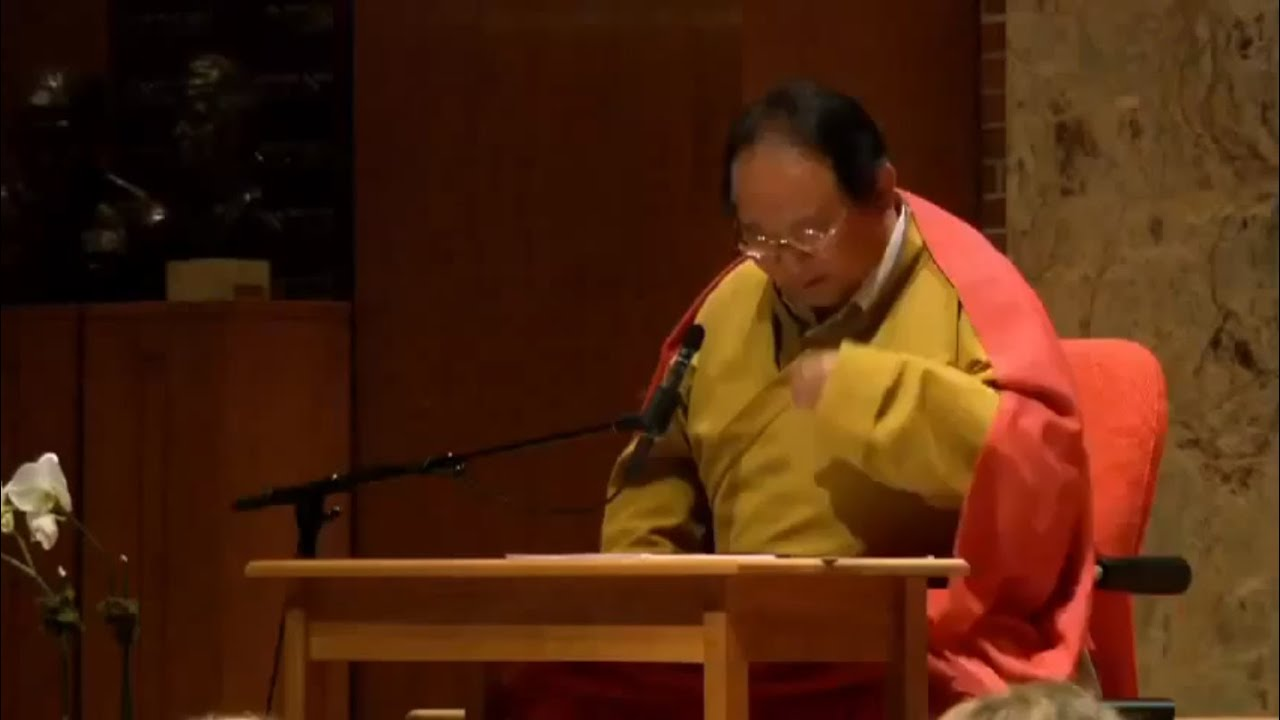 """Lock the door """" – I was devoted to a great Buddhist master"""