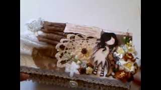 Gorjuss Altered Box - WOC Wild Bunch