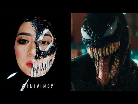 👽Venom Cosplay Makeup Tutorials For Halloween Part2
