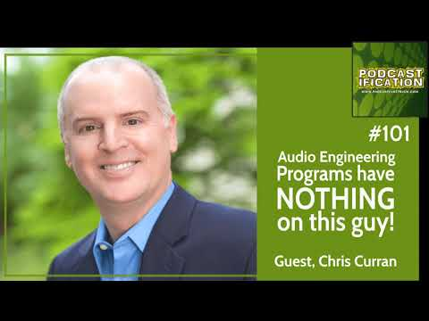 101: Audio Engineering Programs Have NOTHING On This Guy - Chris Curran