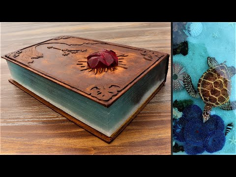 How To Make This Book   Resin Art