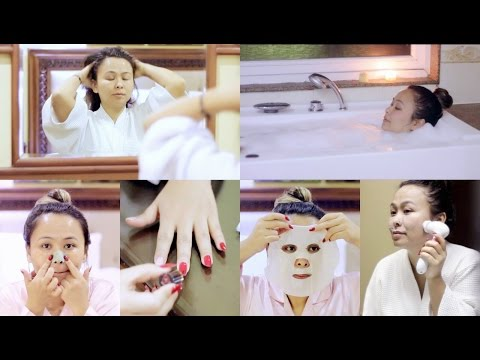 At Home Spa | Pamper Night Routine