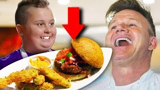 15 Times Gordon Raṁsay Actually LIKED THE FOOD!