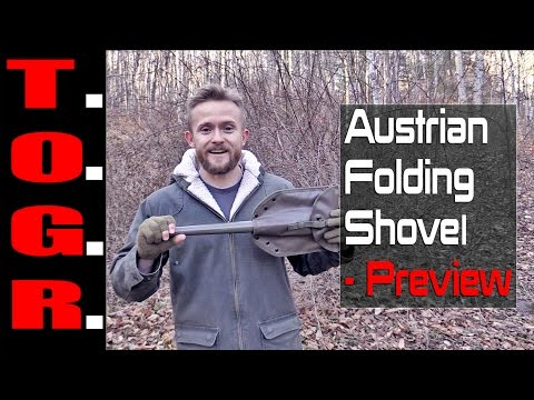Military Grade! - Austrian Folding Shovel - Preview