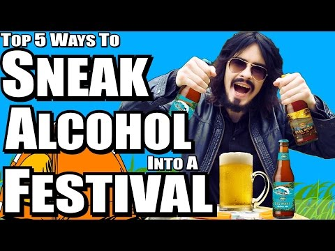 Top 5 Ways To Sneak Alcohol Into a Festival - (IrishPeopleStyle)