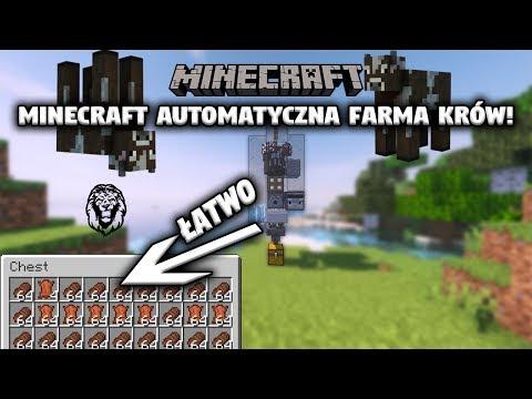 Minecraft: Farma Krów! (Poradnik Do Redstone!)