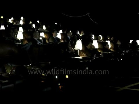 Cinema in luxury: Director's Cut theater of PVR in New Delhi, India