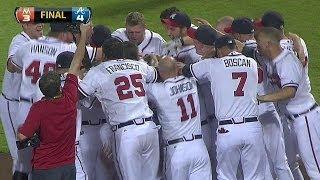 MIA@ATL: Freeman's homer sends Braves to postseason