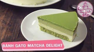 LÀM BÁNH 365 | Cách làm bánh gato Matcha Delight