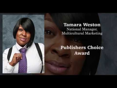 Tamara Weston  MACY'S National Multicultural Marketing Manager-2016 Publisher's Choice Award