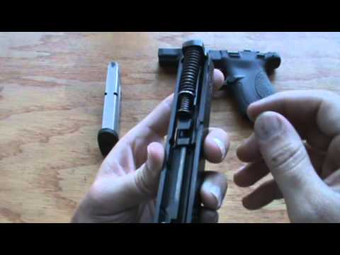 M&P Shield Field Strip - Disassembly and Assembly