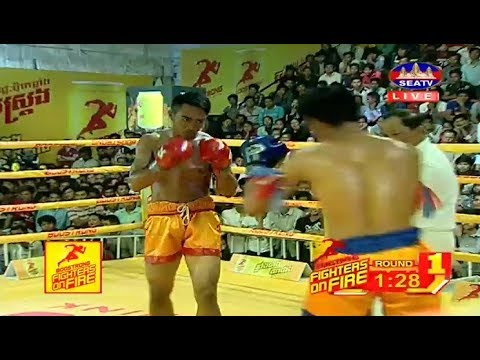 Khim Dima vs Phlay Noy(thai), Khmer Boxing Seatv 18 March 2018, Kun Khmer vs Muay Thai