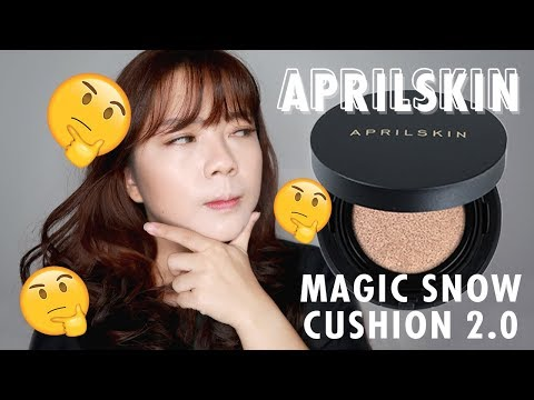 April Skin Magic Snow Cushion Black 2.0 First Impressions + Review \\ IS IT REALLY WORTH THE HYPE?!