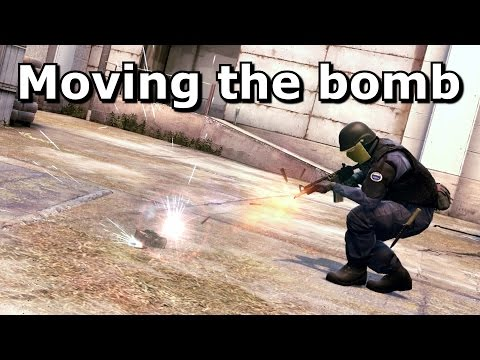 CS:GO: Moving a Dropped Bomb