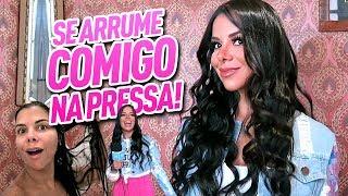 SE ARRUME COMIGO NA PRESSA!!!