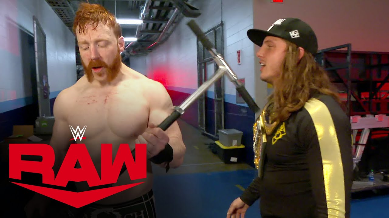 Sheamus clobbers Riddle with his scooter: Raw, Mar. 22, 2021