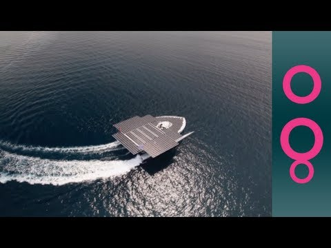 PlanetSolar: the largest solar-powered boat in the world