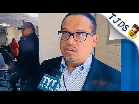 "Keith Ellison Scolds Progressives-- ""Buck Up!"" And Take It!"
