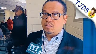 """Keith Ellison Scolds Progressives-- """"Buck Up!"""" And Take It!"""