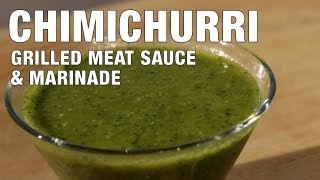 Chimichurri Steak Sauce & Marinade | The Hungry Bachelor
