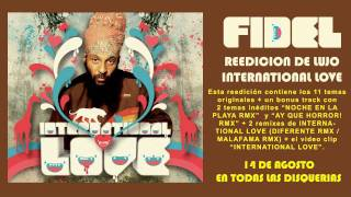 Fidel Nadal - International love Diferente Remix (AUDIO) [HD]