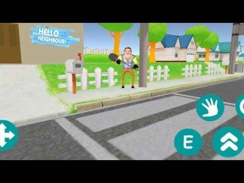 Hello Scary Neighbor House Android Game Gameplay
