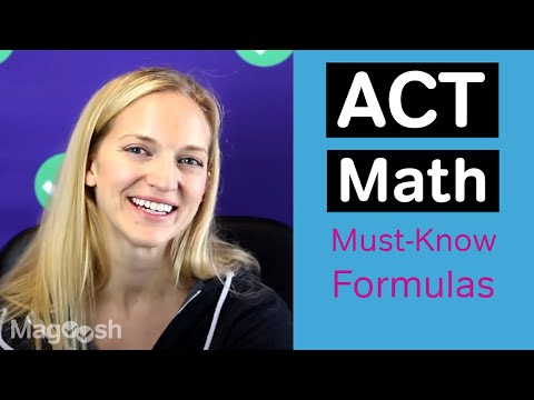 6 ACT Math Formulas You MUST KNOW