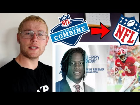 Rugby Player Reacts to The 2020 NFL Scouting Combine Best Of WIDE RECEIVER Workouts! |