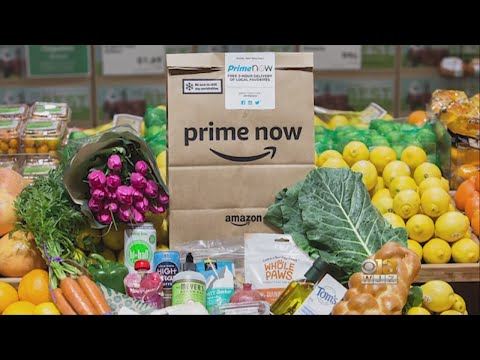 Sarah Jacobs - Amazon will deliver groceries on Thanksgiving Day