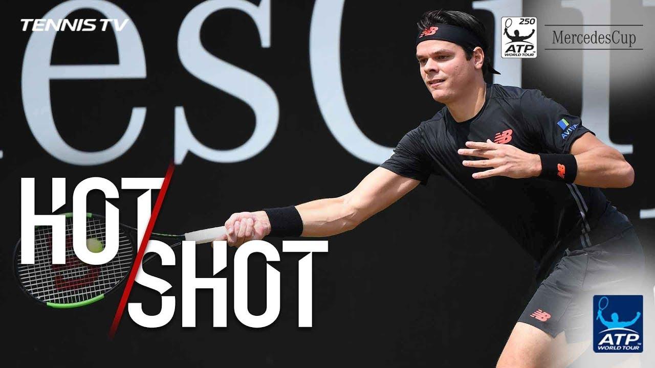 Hot Shot: Raonic's Roaring Return Winner In Stuttgart 2018 Final