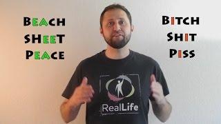 Funny Pronunciation Lesson: Bitch vs Beach, Shit vs Sheet