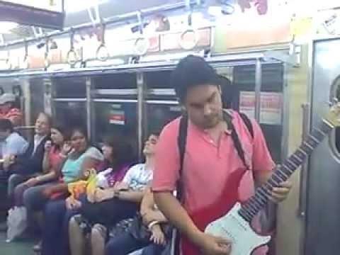 Musicos del Subte de Buenos Aires : Ariel Cáceres.