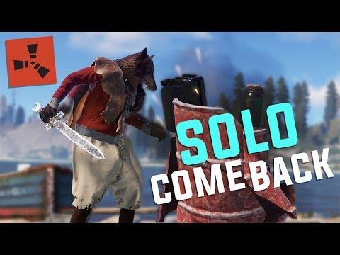 Rust - The SOLO COMEBACK (Rust Solo Survival)