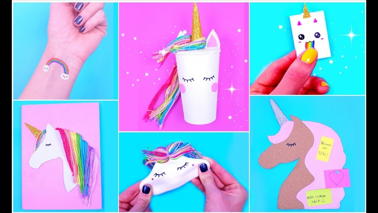 Diy Unicorn School Supplies For Back To