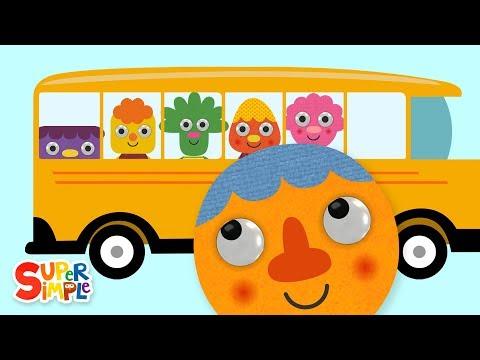 Cantec nou: The Wheels On The Bus (2019) | Nursery Rhymes | Super Simple Songs