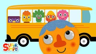 The Wheels On The Bus (2019) | Nursery Rhymes | Super Simple Songs