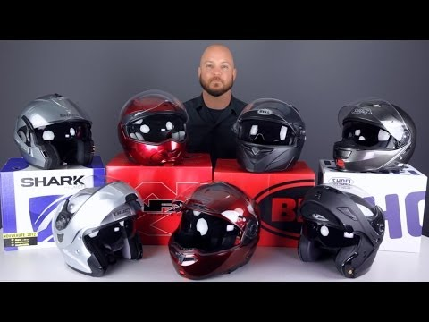 2014 Modular Helmet Buying Guide from Jafrum.com