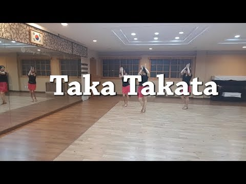 Taka Takata - Line Dance( Hilda Foo -  High Beginner)