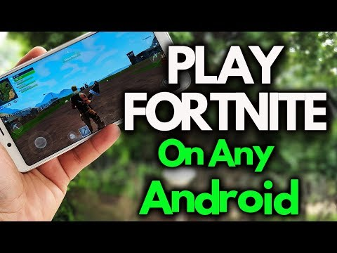 PLAY Fortnite on Redmi Note 5 Pro or ANY Android Phone