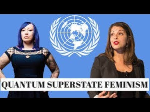 QUANTUM SUPERSTATE FEMINISM