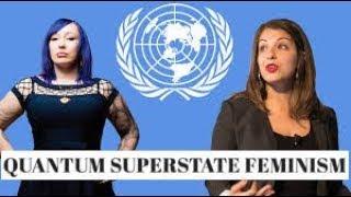 Quantum Superstate Feminism